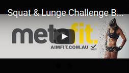 Squat Lunge challenge
