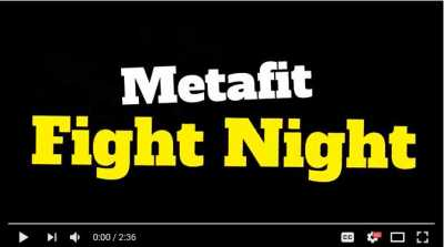 Metafit Fight Night